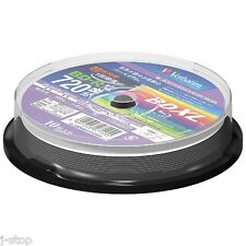 10 Verbatim BD-R BDXL 100 GB Bluray Triple Layer Rohlinge Inkjet Printable Discs