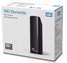 WD Elements 12TB USB 3.0 Disco duro externo nuevo con wrranty My Book