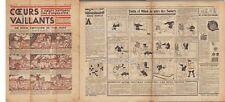COEURS VAILLANTS 1932  n°   6  TINTIN SOVIETS   ABE