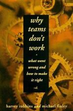 Why Teams Don't Work: What Went Wrong and How to Make It Right