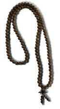 Mala Gebetskette 108 Beads Bocote Holz buddhistische Halskette AsienLifeStyle