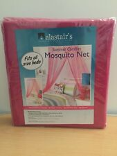 Alastair's Summer Comfort Mosquito Net Fits All Size Beds in Pink Colours