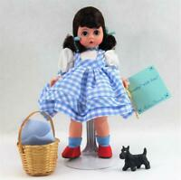 """Vintage Madame Alexander 8"""" Dorothy Doll w/Toto 13200 Wizard of Oz Stand Tags"""