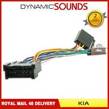 pc2-65-4 car stereo radio iso wiring harness adaptor for kia