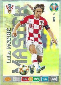 PANINI ADRENALYN XL EURO 2020 LUKA MODRIC MASTER NO 2