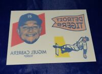 2020 TOPPS HERITAGE TATTOOS MIGUEL CABRERA #25 1971 DETROIT TIGERS ONLY 200 RARE