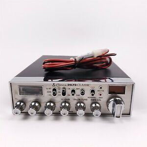Cobra 29 Ltd Classic CB Radio w/ Power Adapter - No Mic or Instructions