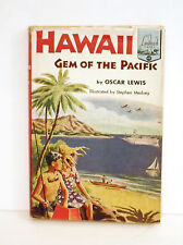 HAWAII - Gem of the Pacific LANDMARK Book #49 Illustrated W/ VG Dust Jacket 3rd