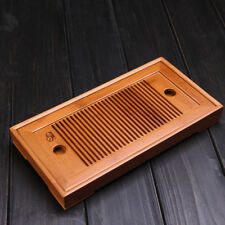 Small Bamboo Gongfu Tea Table Serving Tray 27*13cm Chinese Bamboo Tea Tray