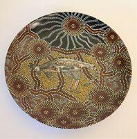 BUNABIRI Colin Jones Ko-Or Bohre The Kangaroo Westminster Aboriginal Art Plate