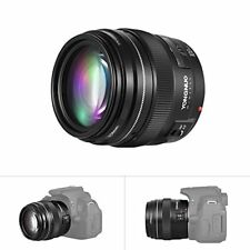 Yongnuo YN100MM F2-F22 AF& MF Telephoto Prime Lens For Canon EOS Rebel Camera