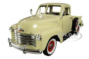1953 CHEVROLET 3100 PICKUP TRUCK CREAM 1/24-1/27 DIECAST MODEL CAR WELLY 22087