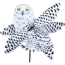 SNOWY OWL Wind Spinner-Whirligig -- Yard Stake -- Garden Decor by Premier Design