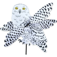 SNOWY OWL Wind Spinner-Whirligig -- Yard Stake -- Garden Decor by Premier Design