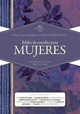 Rvr 1960 Biblia de Estudio Para Mujeres, Tapa Dura (Hardback or Cased Book)