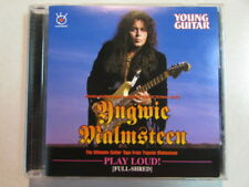 YNGWIE MALMSTEEN PLAY LOUD FULL SHRED INSTRUCTIONAL VIDEO CD NOT DVD FORMAT OOP
