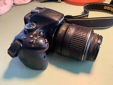 Nikon D5200 24.1MP Digital SLR Camera - Black (Kit w/ AF-S DX G VR 18-55mm...