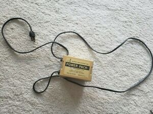 Power Supply Pack Toy Transformer 3310  Eldon Industries 3V, 2 AMPS. DC 6V MAX