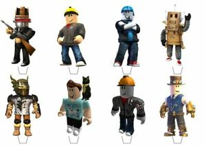 Roblox Theme Edible Wafer Cup Cake Toppers Standing or Disc