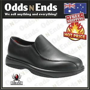 RCBN CHEF  Redack Work Boots , Non Safety Soft Toe, Black Slip-On Shoes Quality