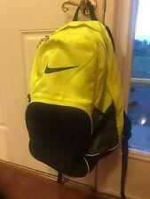 NIKe Neon Yellow Backpack Gently Used