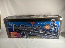 Lazer Tag Bazooka Blast Gun Vintage 1998 Tiger Electronics 90s Toy Red Dot Sight