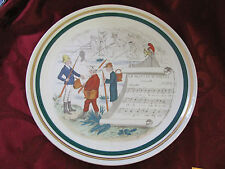 PV Parry Vieille French Opera signed plate #2 in series La Muette de Portici