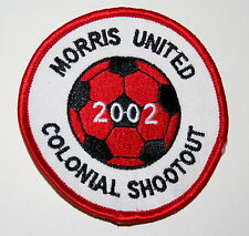Local New Jersey Soccer Club Morris United Colonial Shootout Patch New old Stock