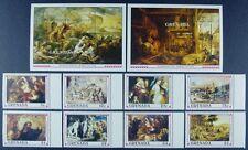 Grenade 1991 Rubens peinture Art Paintings type 2194 à 2101 Bloc 264 265 Neuf sans charnière
