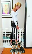 Dreambaby Swing Close Gate With Extensions In Black Gate Shown L778B New