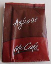 Peru Sugar Packet Mc Donald's McDonald's McCafe Fast Food