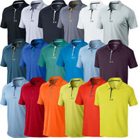 OAKLEY ELEMENTAL 2.0 MENS HYDROLIX PERFORMANCE GOLF POLO SHIRT 40% OFF RRP