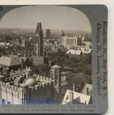 Yale University Towers & Turrets New Haven CT Keystone Stereoview c1900
