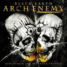 ARCH ENEMY BLACK EARTH + 3 BONUS TRACKS BRAND NEW SEALED 2 CD SET REMASTERED