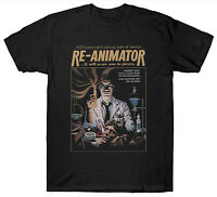 RE-ANIMATOR T SHIRT FANTASY HORROR 1970'S FILM MOVIE