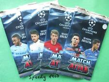 Topps Champions League 15 16 Booster 50 Stück Trading Cards Display  2015 2016