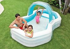 INTEX Inflatable Pool Family Swim Centre Caban Lounge Pool 3.1m x 1.9m x 1.3m(H)