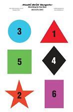 Responsive SCN (shape color number) Target - 10 Pack