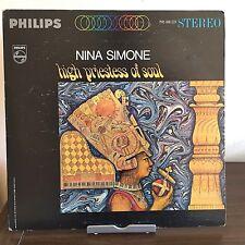 High Priestess of Soul by Nina Simone 1967 Vinyl Philips Records 1st Press