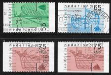 NVPH 1427A - 1427D Serie één zijde ongetand Gebruikt