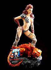 Sexy Girl Sarah & Lizard Amazoness warrior 1/8 Figure Vinyl Model Kit