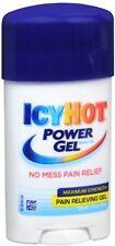 2 Pack - ICY HOT Power Gel Pain Reliever Gel Maximum Strength 1.75 oz