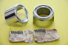 Genuine Yamaha RX100 RX125 Front fork Guide Cover Lower 1Pair Nos 1V1-23116-00