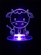 Cow Flashing Night Light - Small Novelty Gift for Kids