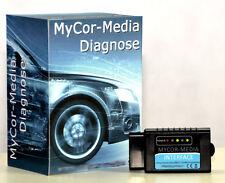 Bluetooth Diagnose Interface für Mercedes Benz CAN-BUS OBD2 + Apps und Software