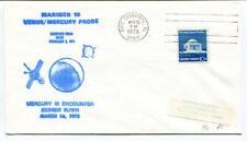 1975 Mariner 10 Venus Mercury Probe Mercury III Ecounter Closest Flyby Canaveral
