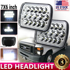2PCS 7X6 5X7'' LED Headlight For Ford E-150 E-350 F-250 Super Duty Ranger GT