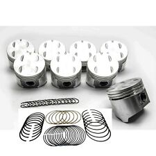 SEALED POWER Mopar Dodge 318/5.2L Cast Flat Top Pistons+Moly Rings 1967*-84 +030