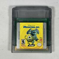 MONSTERS, INC. - NINTENDO GAME BOY COLOR