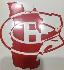 Montreal Canadiens Habs NHL Hockey Yeti Cup Vinyl Decal Window Sticker